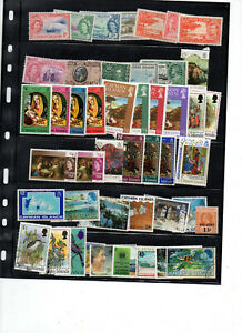 Timbres-colonies-anglaises-Cayman-Islands-Iles-Caiman-lot-1