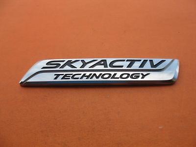 Genuine New MAZDA SKYACTIV TECHNOLOGY REAR BADGE Boot Emblem For CX-5 2013+