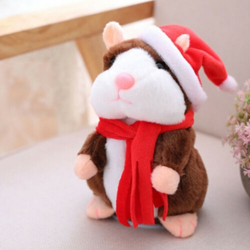 Cheeky Hamster talking mouse pet christmas toy speak sound record hamster US ILO