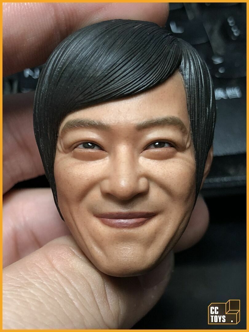 CCToys 1 6 LEGAL HIGH Male Head Sculpt PVC Smiling Masato Sakai F 12'' Man Body