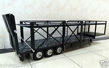 3-axis Large Aluminum Auto Car Cargo Semi Trailer  for Tamiya 1/14 Tractor Truck