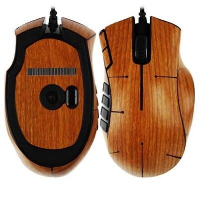Skinomi Carbon Fiber Silver Skin Cover Gaming Mouse Protector for Razer Mamba