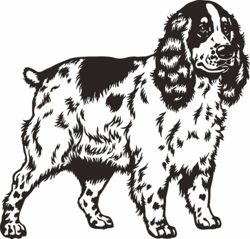 Cocker Spaniel Dog Pet Animal Companion Wall Art Decal Sticker Picture Poster