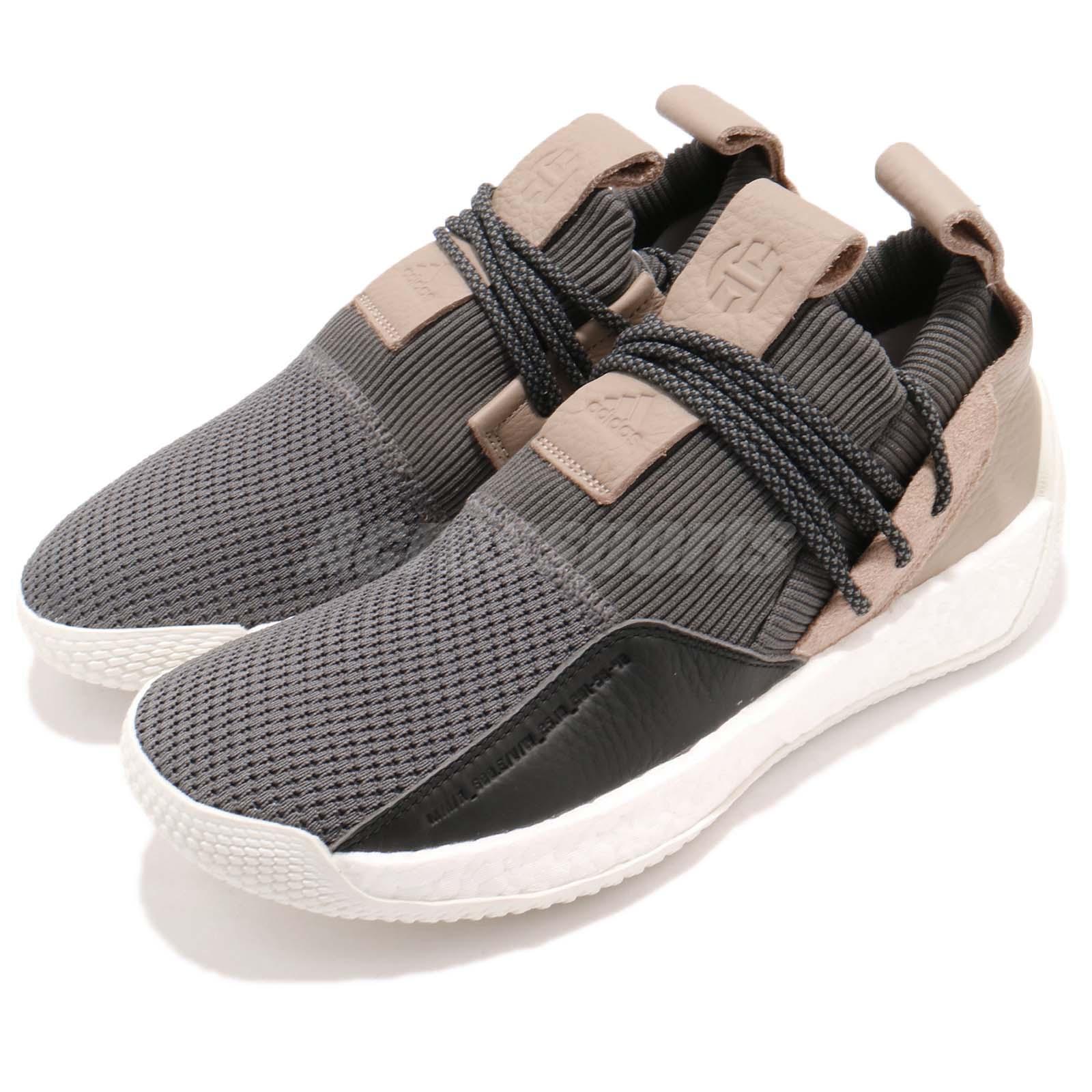 Adidas Harden LS 2 2 2 Lace II James Boost grigio nero bianca Uomo Lifestyle B28170 747b01