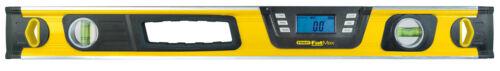 STANLEY Neigungsmesser 60 cm 2 Libellen Messbereich 0°-360° leicht ablesbar