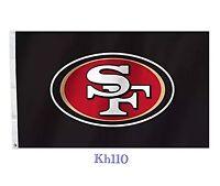 Nfl San Francisco 49ers 3'x5' Flag -black Color