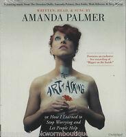 The Art Of Asking Amanda Palmer Audio Book Unabridged Cds Music Inspiration