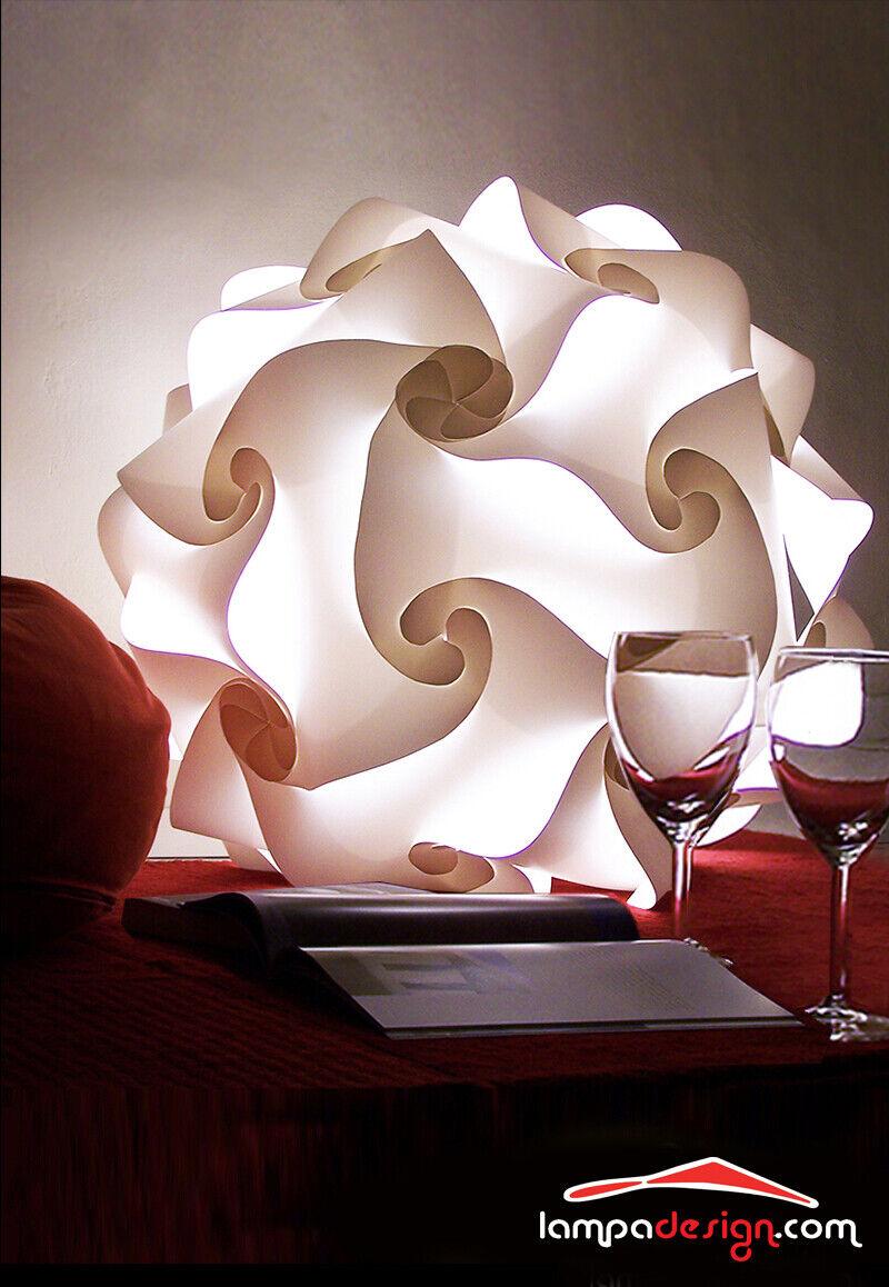 Lampada da terra FIOCCO 50cm Design retrò Illuminazione salone Lampada atmosfera
