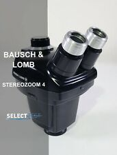 Bausch Amp Lomb 7 30x Black Stereozoom 4 Microscope Head Look Ref G