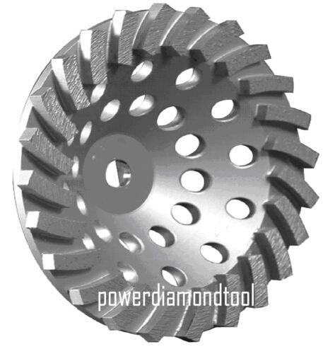 "10PK-7/""X24SEG POWER DIAMOND CUP WHEEL CONCRETE//STONE//BLOCK GRINDING-BEST"