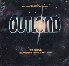 OUTLAND - Jerry Goldsmith Soundtrack LP MINT