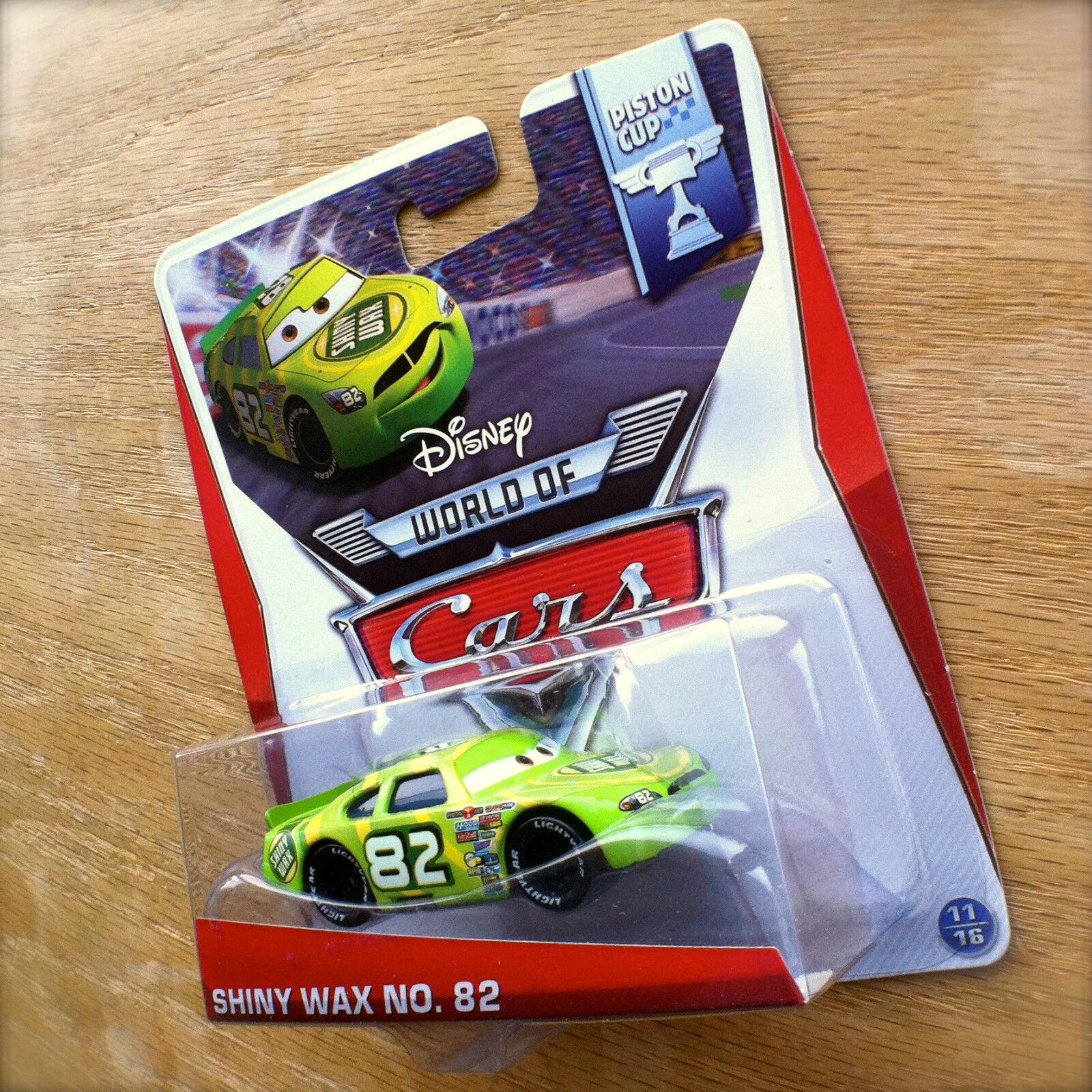 NUOVO Disney World Of Cup Shiny Cars Piston Wax Nº 82 11//16