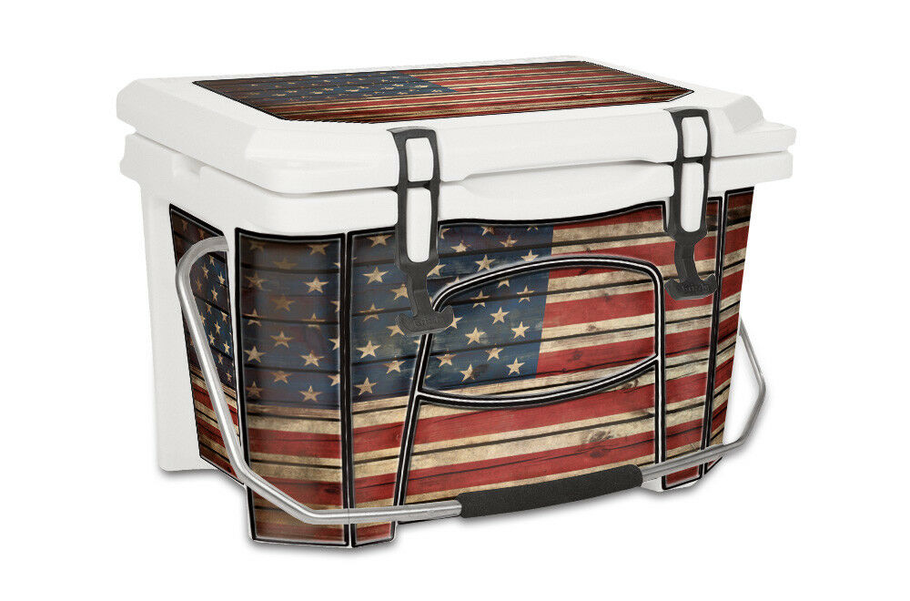 USATuff Decal Wrap Full Kit fits Grizzly 20qt Glory Cooler Old Glory 20qt f80a7a