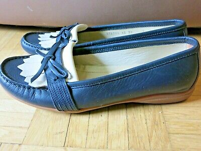 Piampiani Schuhe Mokassins Stiefel Boot Leder Made in Italy Gr.39 INDI2 Schwarz