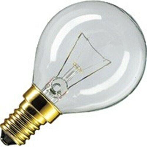 4x Philips Backofenlampe P45 40W E14 Glühbirne Glühlampe Backofen 40 Watt