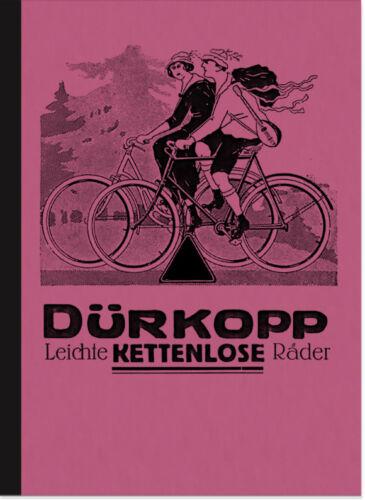 Dürkopp biciclette TRASMISSIONE kettenlos prospetto descrizione catalogo Diana bicicletta