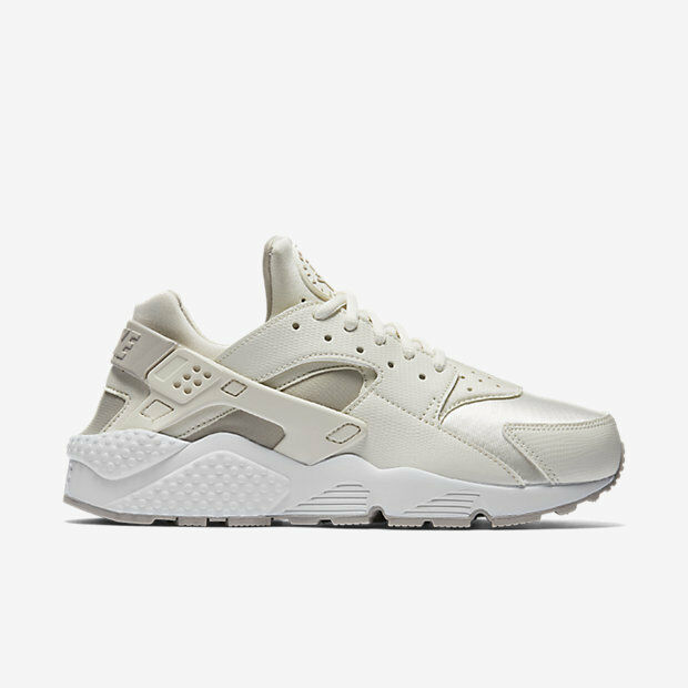 {634835-018} WOMEN'S NIKE AIR HUARACHE RUN PHANTOM/LT IRON ORE  NEW