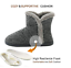 Women-Cozy-Plush-Fleece-Bootie-Slippers-Winter-Indoor-Outdoor-House-Shoes thumbnail 4