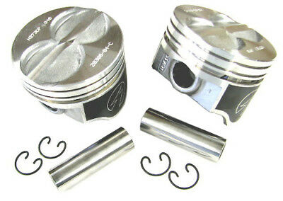 """Speed Pro FMP H273CP60 Small Block Ford Coated Pistons 289 302 5.0L 4.060/"""" Bore"""