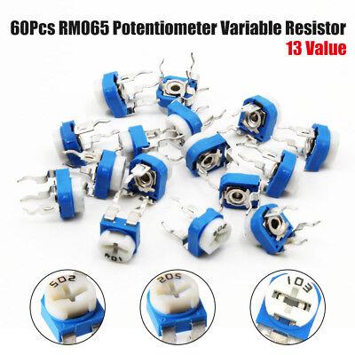 Potentiometer Horizontal Trim pot Trimmer Variable Resistor  ~choice of values~
