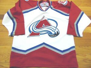 Image is loading VINTAGE-CCM-NHL-COLORADO-AVALANCHE-WESTERN-CONFERENCE-YOUTH - 56de1f79a