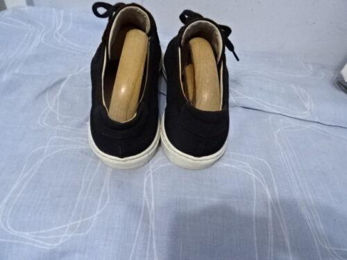38 Projects Sz Lace Common Textile Donna di Up Shoes Black fqdzUwS