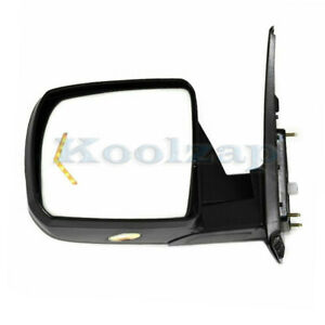 For 07-13 Tundra Mirror Power Fold Heated Memory w/Puddle Signal Lamp Left Side