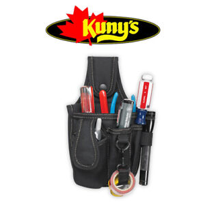 KUNYS PL99 Tough Multi Pocket Small Hand Tool & Mobile Phone Holder Pouch, PL99