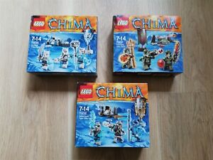 LEGO-Chima-X3-BULK-SETS-TRIBE-PACK-BNIB-70230-70231-70232