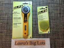 OLfa Rotary Cutter. 45mm, with FIVE extra blades, Brand New, Free Ship $18.00