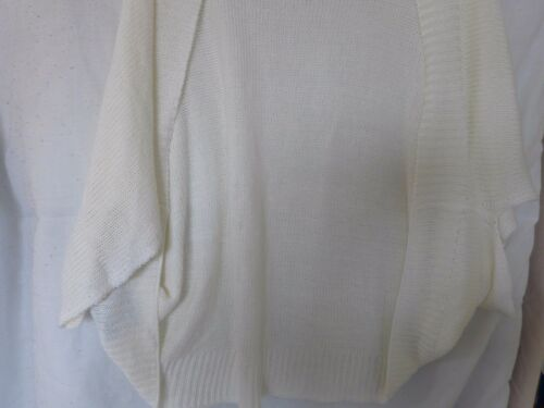 Shrug cardiganr R.P m/&s FEMME Taille unique Marks and Spencer £ 35 environ 16-26 Fit