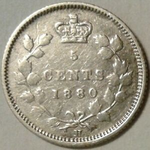 1880H-Obv-2-CANADA-SILVER-FIVE-CENTS-Coin
