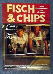 Pesce-amp-Chips-Donal-o-Kelly-Colm-Meaney-A1-Filmposter-Poster-K-142