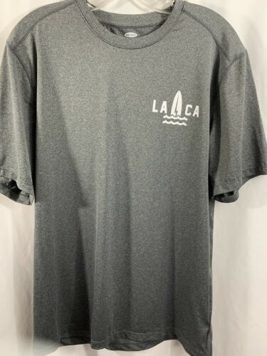 Men's Old Navy Gray Athletic Shirt Pacific Coast S