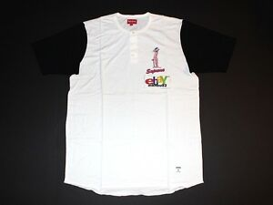 d871f91a723f Image is loading New-Supreme-Pink-Panther-Henley-Baseball-Black-Jersey-