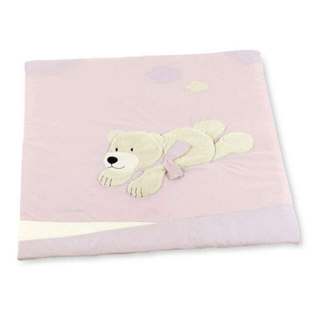 Neu Baby GüNstiger Verkauf Krabbeldecke In Rosa