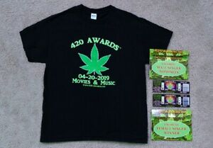 420-AWARDS-Souvenirs-Shirt-Ticket-and-Card-Package-From-04-20-2019-Event