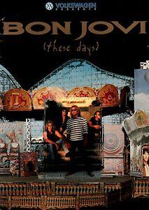 BON-JOVI-1996-THESE-DAYS-TOUR-CONCERT-PROGRAM-BOOK-RICHIE-SAMBORA-EX-2-NMT