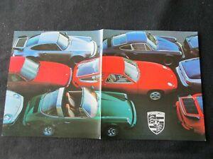 1978-Porsche-911-SC-Coupe-Targa-930-Turbo-928-Brochure-924-911SC-Sales-Catalog