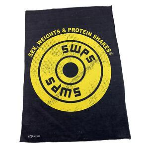Gym Sweat Microfiber Sports Towel Bodybuilding Funny Swps Plate Logo