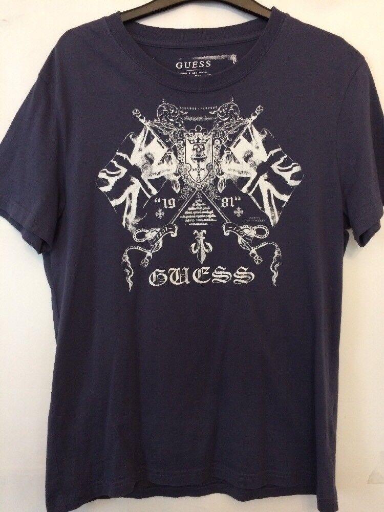 85b1abc8 Mens bluee T By Guess Medium Size Cotton Shirt nvsvec2947-T-Shirts ...