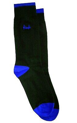 ORIGINAL PENGUIN Mens 3 Pack Blue Black Grey Striped Socks UK 7-11 EU 41-46 BNWT