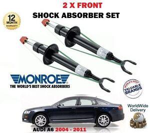 Per-Audi-A6-TFSI-FSI-Quattro-2004-2011-2-x-Anteriori-SX-Ammortizzatore-Dx-Set