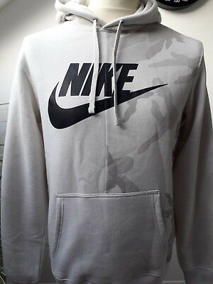 BRAND NEW TAGGED NIKE NSW CAMO HOODY HOODIE TOP JACKET CLASSIC 80/'S LOGO