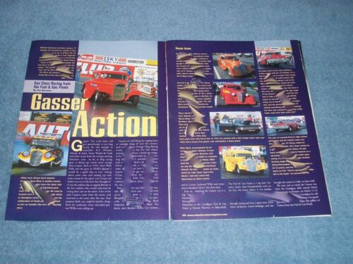 2005 Article on Goodguys Gasser Class Racing Willys AGas BGas CGas