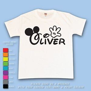 73ca747b Image is loading Disney-Personalised-Name-Mickey-Minnie-Ears-Hands-Custom-