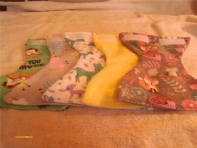 """MED DOLL CLOTHES DIAPERS SET OF 5 FITS SIZE 12/"""" 13/"""" 14/""""  DOLLS SET B2"""