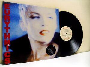 THE-EURYTHMICS-be-yourself-tonight-LP-EX-EX-PL-70711-with-lyric-insert-vinyl