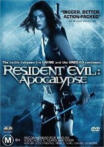 Resident-Evil-Apocalypse-DVD-2005-Milla-Jovovich-FREE-POST