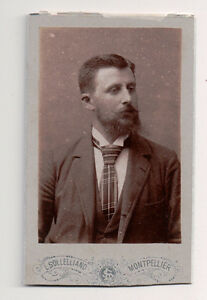 Vintage-CDV-French-Aristocratic-Gentleman-Sollelliand-Photo-Montpellier-F2